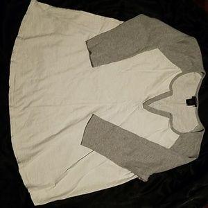 Torrid 3/4 Sleeve Top